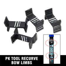4×Pk Tool Recurve Bow Limbs Center Line Adjustment Module Calibration Detector