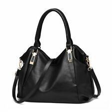 New Fashion Women PU Leather Handbag Shoulder Bag Messenger Hobo Tote Purse Bag