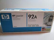 HP OEM ORIGINAL 92A C4092A TONER PRINT CARTRIDGE Black Laserjet 1100 3200 3220