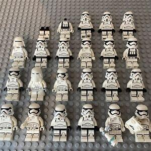 Big LEGO First Order Modern Star Wars Minifigure Bundle Snow Storm Trooper Read