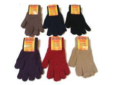 Gants d'hiver en acrylique pour femme