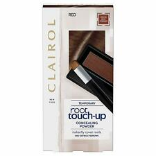 Clairol Root Touch Up Hair Dye, Temporary Roots and Eyebrow Powder, Red