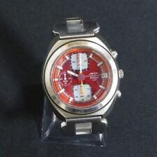 SEIKO AKA Chronograph Watch Wristwatch V657-6030 Free Shipping Japan 1