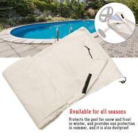 Waterproof Swimming Pool Solar Reel Protective Cover Blanket Winter S/M/L