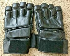 Real Leather Martial Art, BoxingTraining Gloves (Size L)