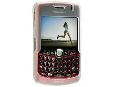 Rubberized Solid Case Clear For BlackBerry Curve 8330