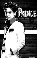 "Prince ""Black Light"" Poster"