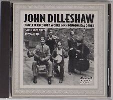 JOHN DILLESHAW: Completed Recorded Works in Chronological Order 1929-1930 CD