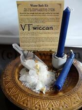 * Water * Elemental Bath Ritual Spell Kit Pagan Witchcraft Altar Supply