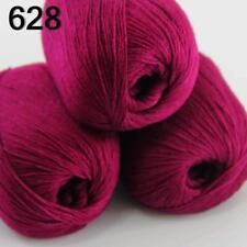 Sale New 3 Skeins Mongolian Pure Cashmere Wrap Shawls Hand Knitting Wool Yarn 28