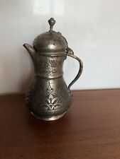 Arabic  Ottoman  Copper Coffee Milk Pot hammered antiquate rare