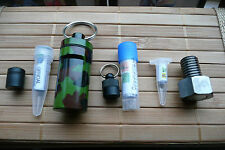 SEVEN GEOCACHE CONTAINERS