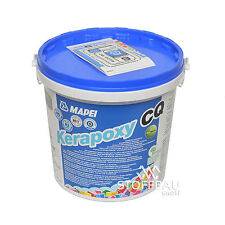 EUR 13,33/kg MAPEI Kerapoxy CQ - Epoxidharzfugenmörtel, zementgrau 113, 3 kg