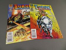 TUROK The Hunted 2 Issue Lot #'s 1, 2 Valiant Comics (1) Save On Shipping