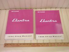1996 HYUNDAI ELANTRA Factory Shop Service Manual Set 2-Volume