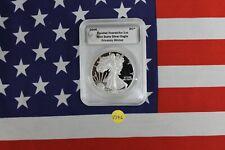 2009 Daniel Carr Proofed Overstrike 1 OZ - Mint State Silver Eagle (V346)