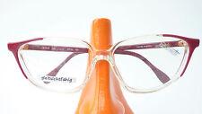 Cateye occhiali grandi PLASTICA TELAIO DA DONNA ELEGANTE SILHOUETTE Rosso Chiaro Taglia L