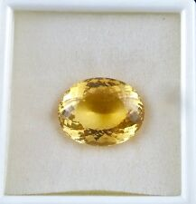 41 CTS CITRINE OVAL CUT GEM STONE FOR PENDANT