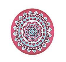 Melamin Teller Ibizaprint pink 25 cm Camping Geschirr Garten Zelten Party  NEU