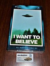 UFO Flying Saucers Fliegende Untertasse I want to Believe Atlantis AMC-1008