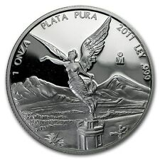 NEUF 2011 mexicain argent Libertad 1 oz (environ 28.35 g) Proof Coin (en capsule)