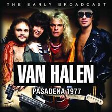 VAN HALEN - PASADENA 1977 CD ALBUM NEW PHD (14TH FEB)