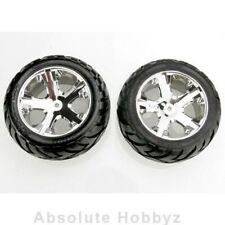 Traxxas Chrome All Star Wheels Anaconda Tires (Assembled) - TRA3773
