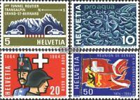 Schweiz 791-794 (kompl.Ausgabe) gestempelt 1964 Jahrestage