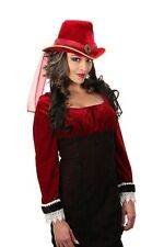 Victorian Red Adult Unisize Costume Top Hat By Elope