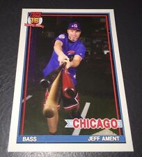 PEARL JAM Wrigley Baseball Card - Jeff Ament 1 bats - 2016 Chicago pack cubs