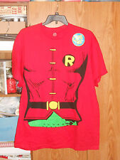 NWOT ROBIN REMOVABLE CAPE T SHIRT ADULT X LARGE