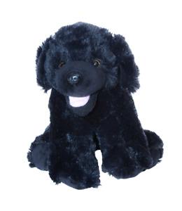 "BLACK LAB LABRADOR DOG 8"" 20CM BUILD A BEAR / ANIMAL MAKE A TEDDY BEAR PARTY"