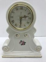 Vintage Paul Sebatian Limited Edition 1998 Porcelain Quartz Mantel Clock