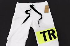 NWT $139 TRUE RELIGION Womens Neon Hit Ankle Zip Sweatpants Size XS WC500TN2