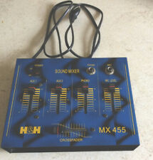 Sound Mixer H&H MX 455 Mischpult