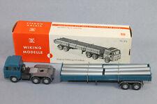 Wiking 757/3 A Röhrensattelzug Magirus 235 D in OVP Maßstab 1/87