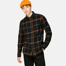 2019 NWT MENS VANS WAYLAND III FLANNEL SHIRT $50 M Black/Rubber tailored fit