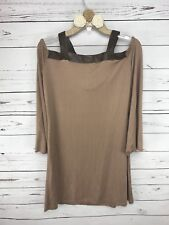 Union Of Angels Womens Dress Small Beige New With Tag