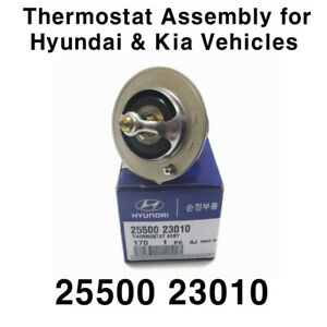 New OEM 2550023010 Thermostat Assembly For HYUNDAI & Kia Vehicles