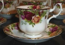 ROYAL ALBERT OLD COUNTRY ROSE CUP AND SAUCER
