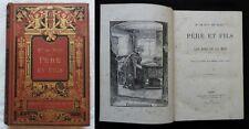 Ac) Mme de Witt née Guizot PERE ET FILS * LES ROIS DE LA MER 1896 Hachette