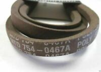 OEM MTD 954-0467A Drive Belt Cub Cadet Craftsman Troy-Bilt Columbia Yardmachines