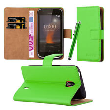 For Nokia 1 Phone Case Luxury Premium Leather Flip Stand View Wallet Cover