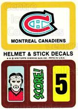 1978-79 Topps Team Inserts #9 Montreal Canadiens
