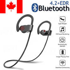 Sweatproof Wireless Bluetooth Stereo Headset Headphones Sport Earphones Earbuds