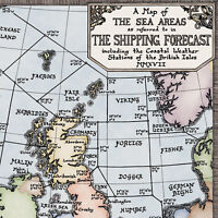 Limited Edition Colour Shipping Forecast Map- Fine Art Prints by Manuscript Maps