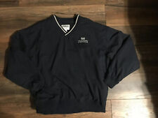 US Airways Express Blue Reflective Waterproof Zip Up Jacket size L Pullover