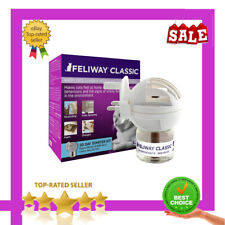 FELIWAY Classic Plug In Diffuser + Refill Pack Calm Cat Stress Relief Pheromone
