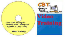 Cisco CCNA Routing & Switching 200-120 (Part1,2,3,4) 4 DVDs + Network Simulator