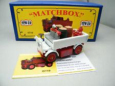 Matchbox MoY Code 2 YFW-39 Walker Feuerwehr 1 von 6 weiß - blaue Box